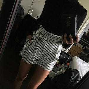 High waisted Zara shorts